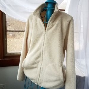 Uni Qlo shearling jacket